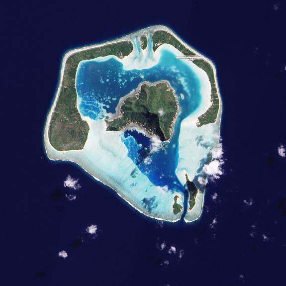 Was Darwin Wrong About Coral Atolls?