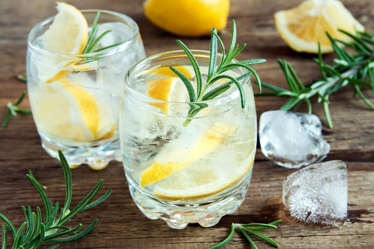 """<p><strong>Calorie count:</strong> 96</p><p>If you love the sweetness cranberry juice lends to drinks, you'll love this lightened up version that gets extra tart flavor from lemons. Just be sure to stay away from tonic water. """"It adds about 80 calories and 21 grams of sugar"""" to your cocktail, Ansari says. Instead, choose soda water or seltzer. """"Choosing to mix a serving of vodka with soda water, which is still fizzy but contains no calories, is much better,"""" she explains. To boost the flavor without adding calories, squeeze some fresh lemon juice for a refreshing kick.</p><p><strong><a href=""""https://www.prevention.com/food-nutrition/g26436302/citrus-fruits/"""" target=""""_blank"""">RELATED: 10 Ways Citrus Fruits Can Benefit Your Heart</a></strong></p><p> Since alcohol tends to dehydrate you, using soda water is a bonus. """"The great thing about soda water other than it not adding calories is that it keeps you hydrated,"""" Ansari says. Whenever you're imbibing, be sure to also take sips of water in between drinks.<br></p>"""