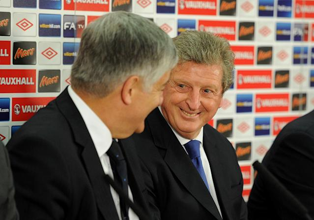 Roy Hodgson (right)