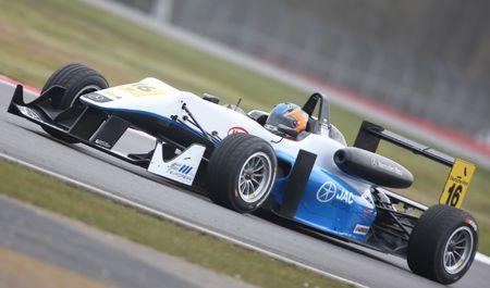 FILE PHOTO - Motor Sport - 2013 FIA Formula 3 Euope Championship - Silverstone - 13/4/13 Tatiana Calderon of Double R Racing in action Mandatory Credit: Action Images / Matthew Childs
