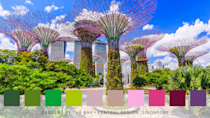 <p>Awash with pinks, greens and purple, this world-famous garden in Singapore brings nature right into the bustling city. Spanning 250 acres, expect waterfront gardens, the largest glass greenhouse in the world and spectacular 'super trees'. </p>