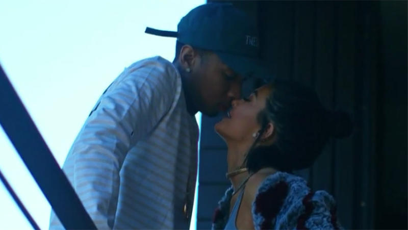 Tyga and Kylie in Stimulated.