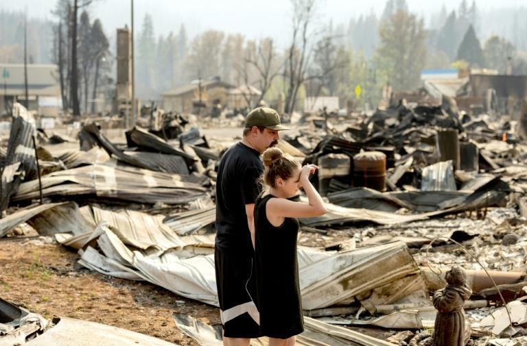 Hundreds of properties have already been destroyed this year, with thousands more threatened in what is shaping up to be the worst wildfire year California has seen (AFP/JOSH EDELSON)