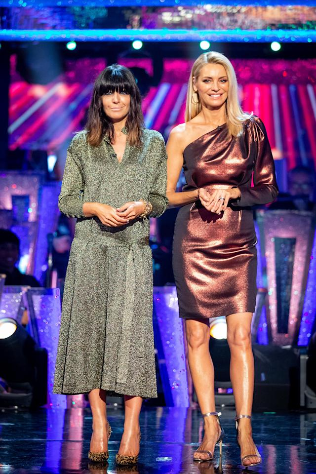 """<p><a href=""""https://www.prima.co.uk/leisure/tv-and-film/a34010946/strictly-come-dancing-studio-audience-tickets/"""" target=""""_blank"""">Strictly Come Dancing</a> launches on October 17, with a socially-distanced series designed to cheer the nation up after an exhausting year of <a href=""""https://www.prima.co.uk/leisure/tv-and-film/a34246301/strictly-come-dancing-hrvy-positive-coronavirus/"""" target=""""_blank"""">COVID</a>. There will still be glitz, glamour and two-stepping as the celebrities in these first-look photos give their all to win the glitterball trophy!</p>"""