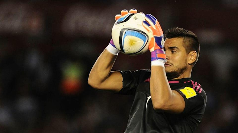 """Argentina v Brazil - FIFA 2018 World Cup Qualifiers - """"Chiquito"""" Romero. 