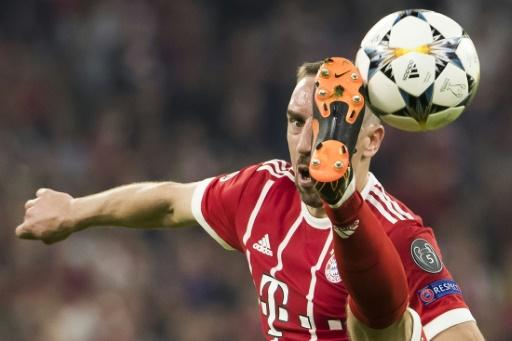 Franck Ribery  was one of the few Bayern stars to shine in the defeat at the Allianz Arena