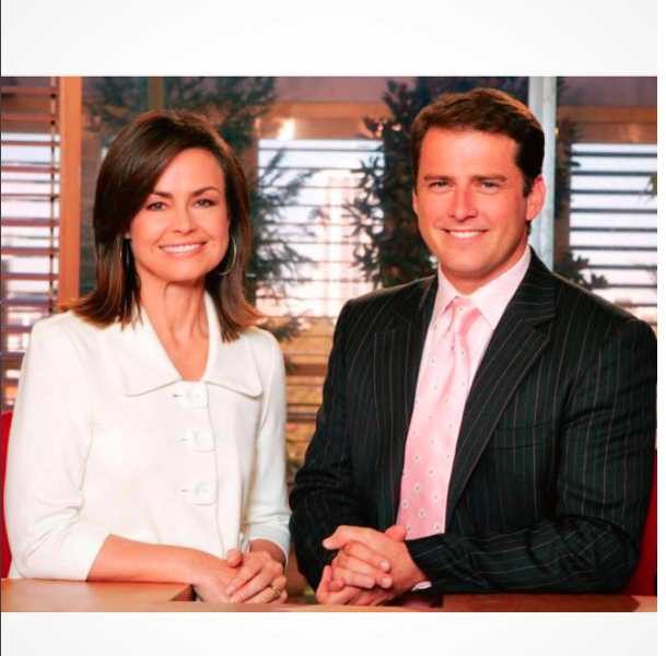 The pair have worked together for over 10 years. Source: Channel Nine