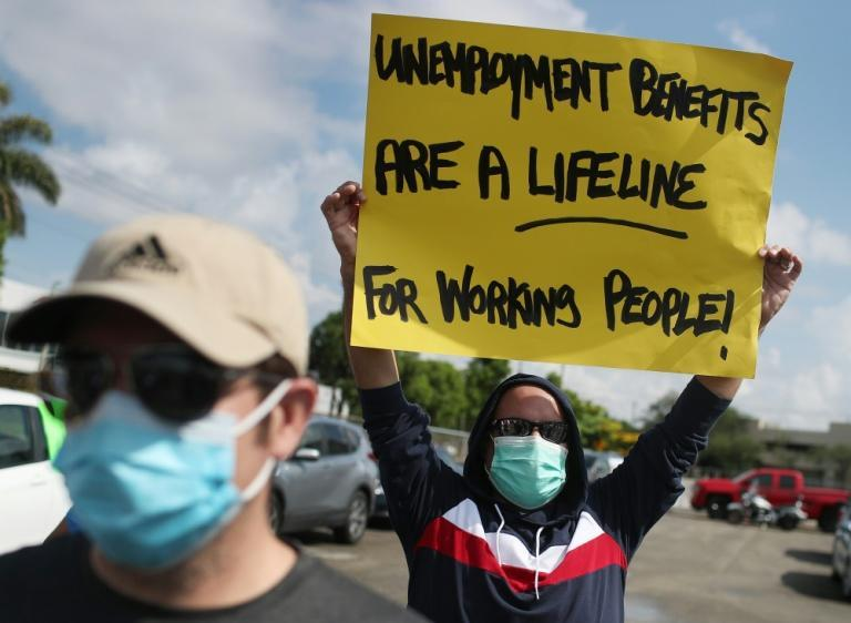US President Joe Biden's spending proposal would extend unemployment benefits that have been credited with keeping jobless workers afloat amid the pandemic