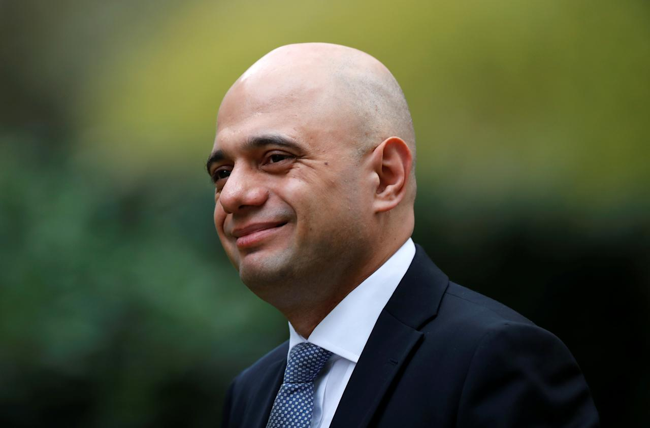 """<p>Sajid Javid has come out firmly against the idea of staying is a Customs Union. While not a staunch advocate he has played down the dangers of a no-deal, insisting the UK would remain """"one of the safest countries in the world"""" in the event of leaving without a deal. (Reuters) </p>"""
