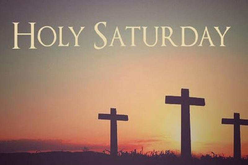 Holy Saturday: A Day of Mourning Before Easter Celebration
