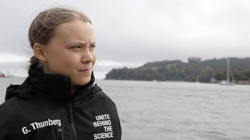 Greta Thunberg signs up for new TV series