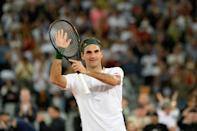 Roger Federer has not played since his win over Rafael Nadal during The Match in Africa in Cape Town last February