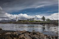 """<p>The idea of being marooned on some remote island fills most people with dread; but retreating into tranquillity at Eilean Sionnach is an experience worth relishing.</p><p>Eilean Sionnach is another feat of the Stevenson family; it was first illuminated in 1857 and stands on a secluded islet just off the south-east coast of Skye. Though Virginia Woolf's To The Lighthouse was inspired by <a href=""""https://www.trinityhouse.co.uk/lighthouses-and-lightvessels/godrevy-lighthouse"""" rel=""""nofollow noopener"""" target=""""_blank"""" data-ylk=""""slk:Godrevy lighthouse"""" class=""""link rapid-noclick-resp"""">Godrevy lighthouse</a> – the view's prominent feature from her childhood holiday home, Talland House – the novel was actually set on the Isle of Skye. You too, can attempt the Ramsays' journey to the secluded lighthouse – except yours should be more fruitful. After crossing the Skye Bridge from the Kyle of Lochalsh, you'll travel over to the lighthouse by boat from the Isle Ornsay Pier.</p><p>Once there, you'll be spoilt for choice when it comes to things to do and see. There's the Old Mann of Storr, <a href=""""https://www.dunvegancastle.com/"""" rel=""""nofollow noopener"""" target=""""_blank"""" data-ylk=""""slk:Dunvegan Castle"""" class=""""link rapid-noclick-resp"""">Dunvegan Castle</a>, the <a href=""""https://www.malts.com/en-row/distilleries/talisker/"""" rel=""""nofollow noopener"""" target=""""_blank"""" data-ylk=""""slk:Talisker Distillery"""" class=""""link rapid-noclick-resp"""">Talisker Distillery</a> and the enchanting Fairy Pools. Should you wish to immerse yourself entirely into a realm of magic and wonder, you're well placed to take the <a href=""""https://westcoastrailways.co.uk/jacobite/steam-train-trip"""" rel=""""nofollow noopener"""" target=""""_blank"""" data-ylk=""""slk:Hogwarts Express"""" class=""""link rapid-noclick-resp"""">Hogwarts Express</a> from Mallaig over the Glenfinnan Viaduct.</p>"""