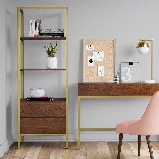 """<a href=""""https://www.target.com/p/68-antwerp-bookcase-with-storage-walnut-project-62-153/-/A-51619256#lnk=newtab"""" target=""""_blank"""">Shop it here</a>."""
