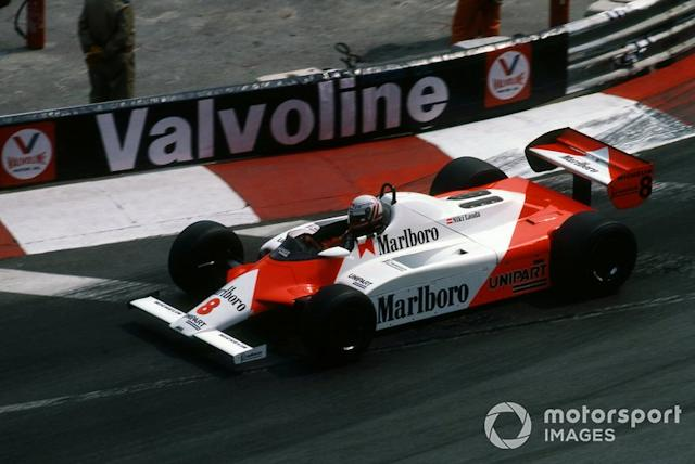 "Niki Lauda, McLaren MP4B <span class=""copyright"">Sutton Motorsport Images</span>"