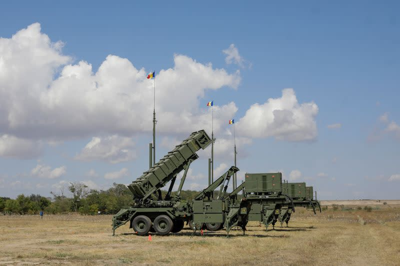 Romania receives Patriot missiles from U.S. to boost defences