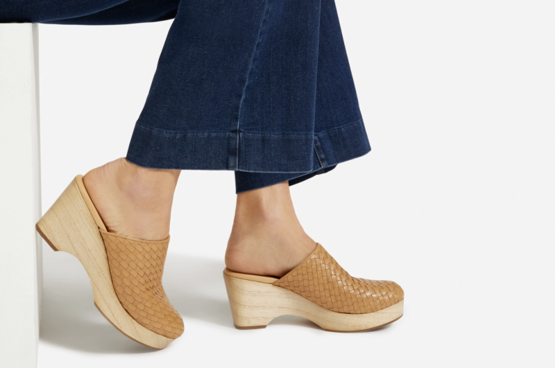Everlane is jumping on the Clog trend with their latest release, which comes in four different colours.