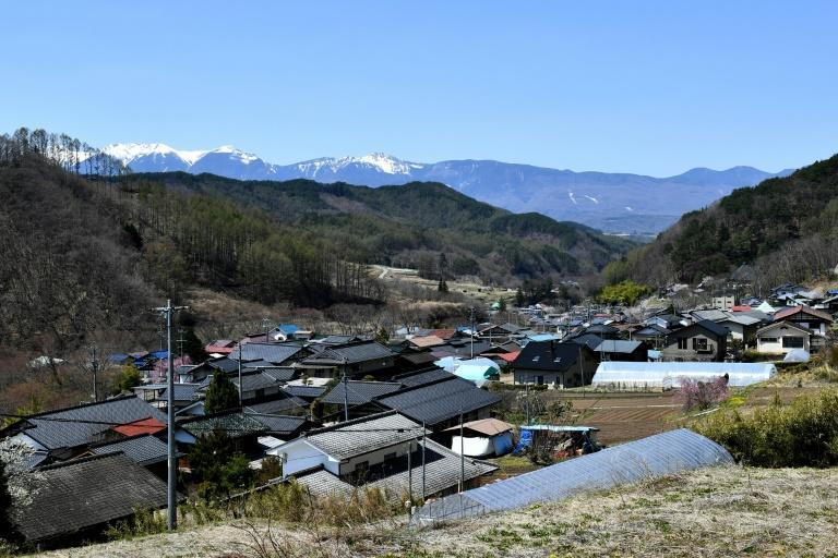 The village of Kitaaiki, in the foothills of the picturesque mountains of Nagano, is home to just over 700 people