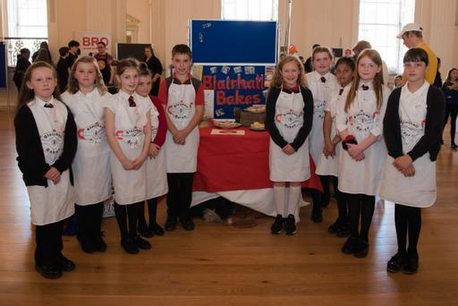 Pupils at Blairhall Primary School in Dunfermline did some baking (Social Enterprise Academy/The Big Issue/PA)