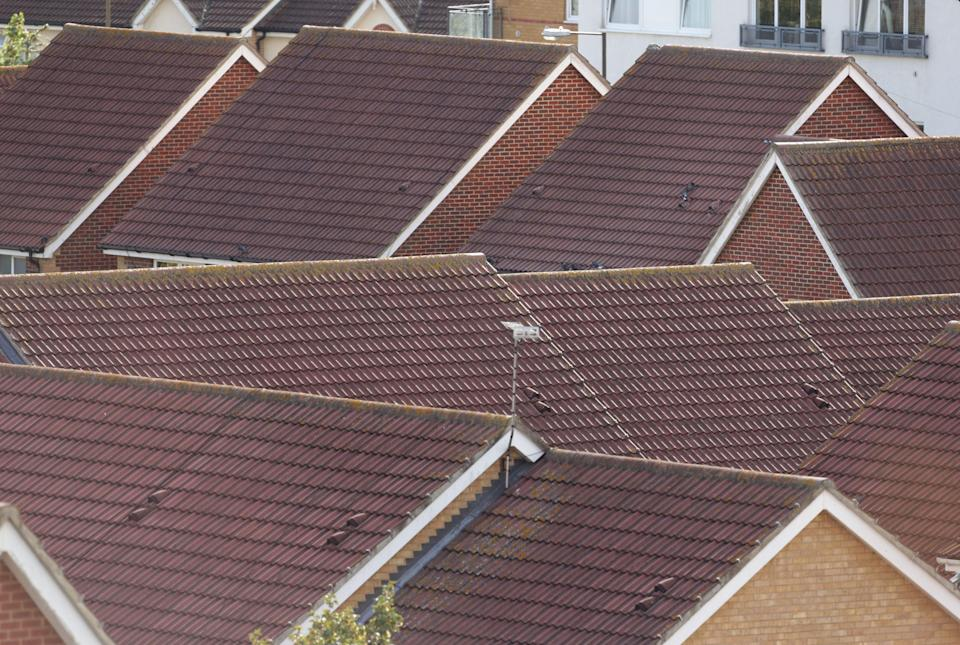House rooftops (PA Archive)