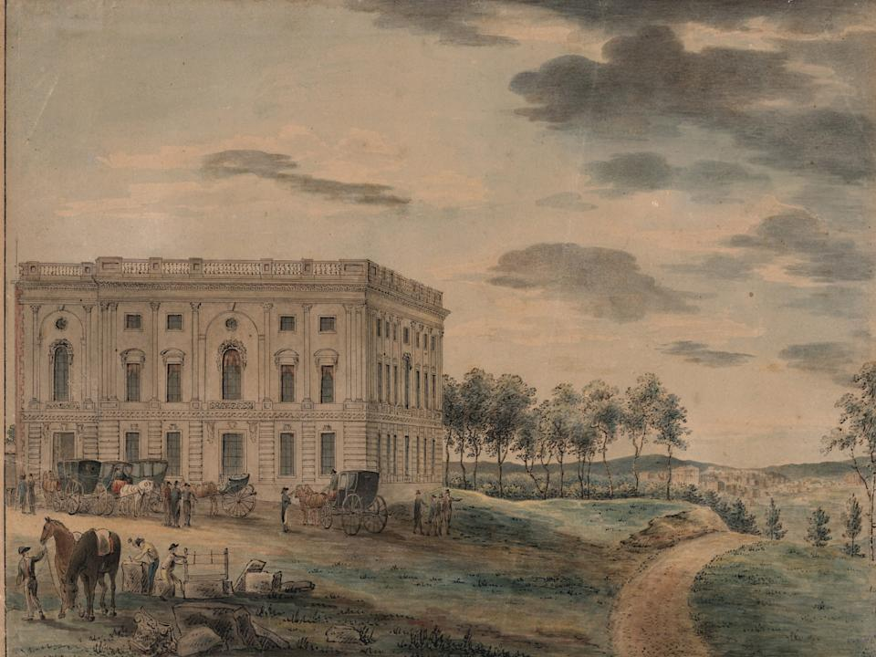 capitol building before war of 1812