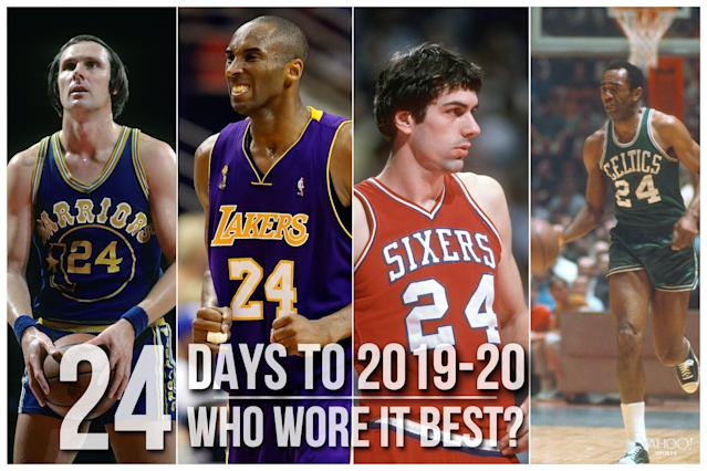 Which NBA player wore No. 24 best?