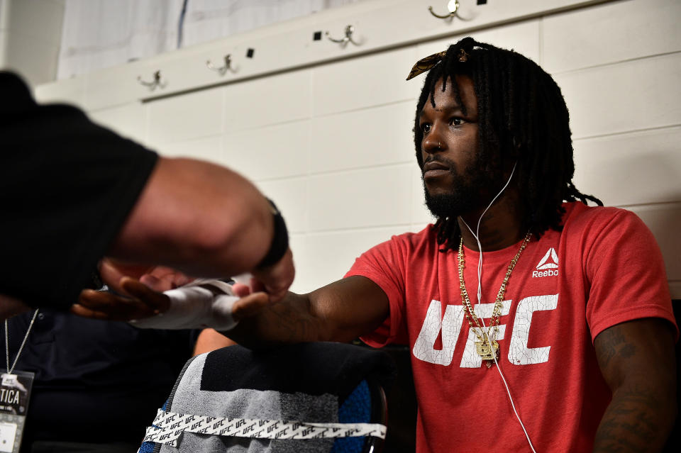 Desmond Green was involved in a fatal 5-car crash in Florida on Saturday, and escaped with minor injuries. (Getty Images)