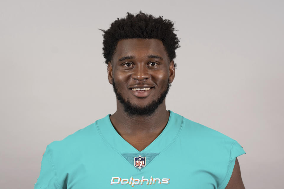 Kendrick Norton of the Miami Dolphins was involved in a car accident. (AP)