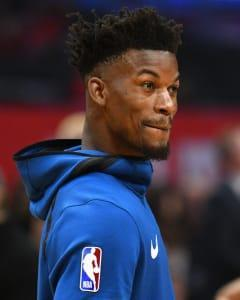 With Joel Embiid sidelined, Jimmy Butler is in line for more offensive responsibility.