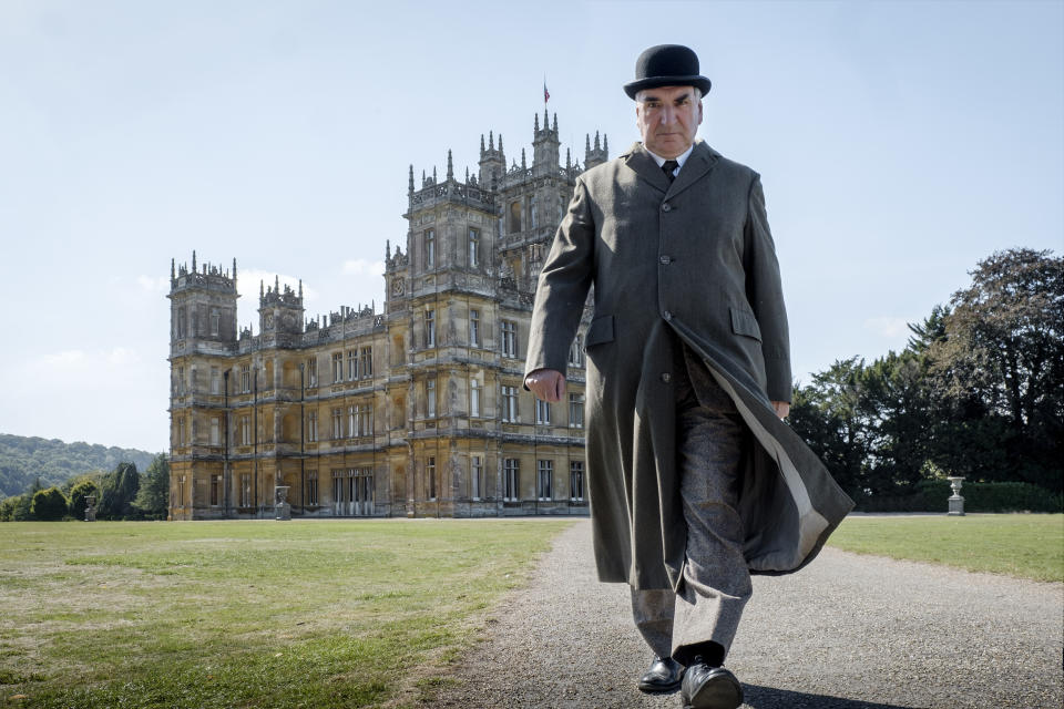 Jim Carter is back as butler Carson in the 'Downton Abbey movie (Credit:  Jaap Buitendijk/Focus Features)