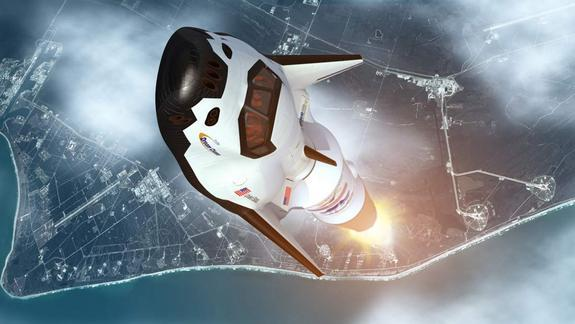 New Private Space Plane Passes Key Design Review