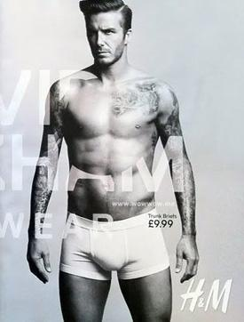 David beckham naked picture are
