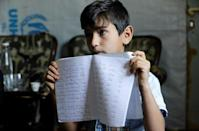 Eleven-year-old Mohammad is among tens of thousands of children in Lebanon who have been left for months without schooling due to coronavirus restrictions