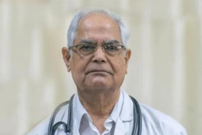 Eminent Pulmonologist and Former HoD of Medicine at AIIMS Succumbs to Coronavirus Infection