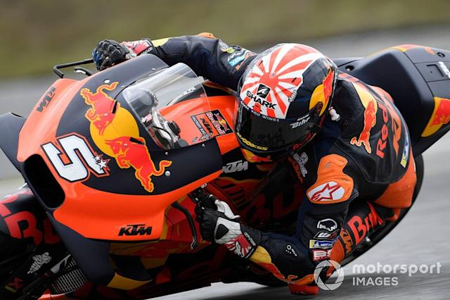 "Johann Zarco, Red Bull KTM Factory Racing <span class=""copyright"">Gold and Goose / LAT Images</span>"