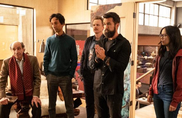 Rob McElhenney Says the Characters in 'Mythic Quest' Are 'Real People' Compared to 'Sunny' Gang