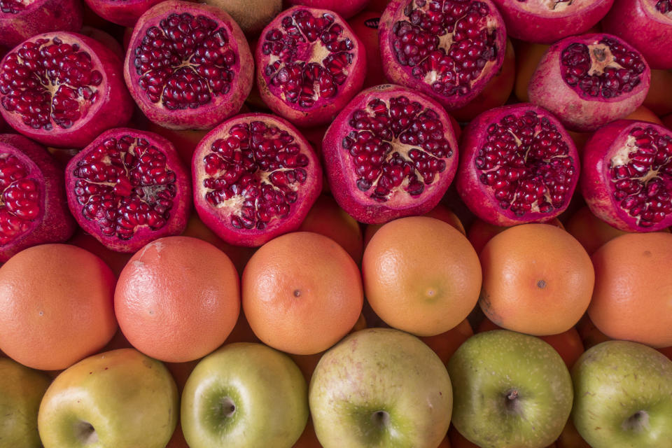 Swap out fruit juice for real fruit [Photo: Getty]