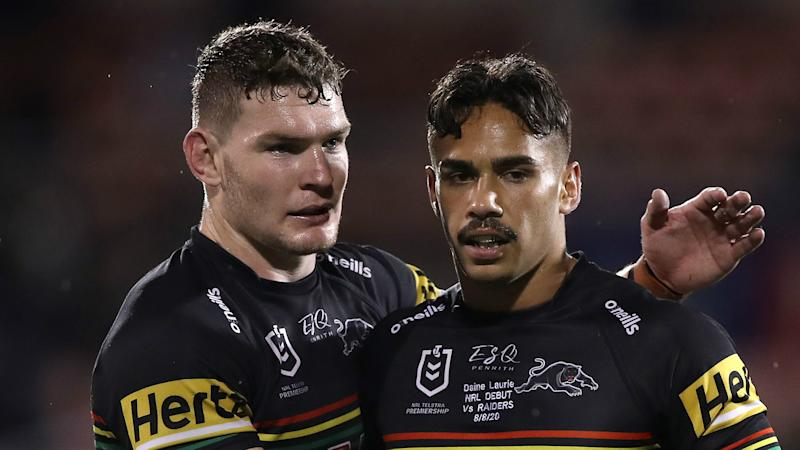 Panthers pummel Raiders to match club wins record