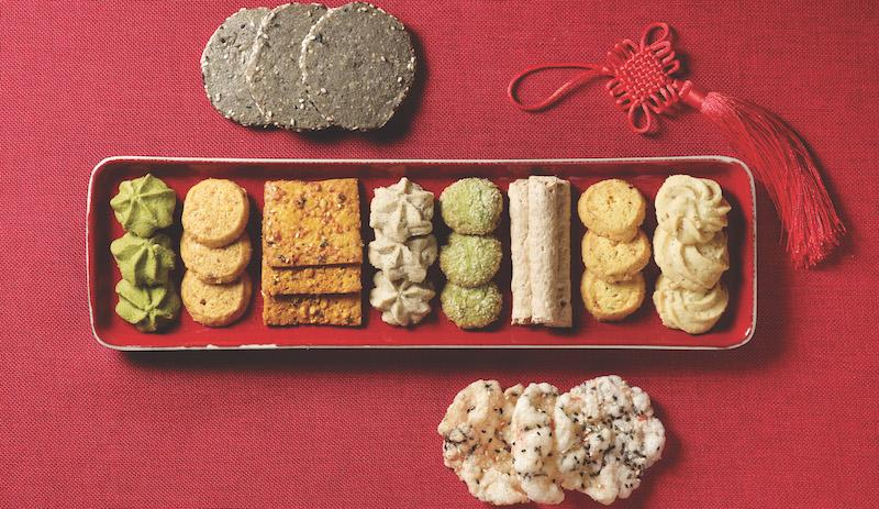 Antoinette's array of cookies and treats. Photo: Antoinette