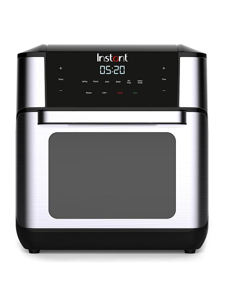 """<p>For healthier versions of your favorite fried foods, turn to this <a href=""""https://www.realsimple.com/food-recipes/tools-products/appliances/instant-pot-air-fryer"""" target=""""_blank"""">large 10-quart air fryer oven</a>. It fries, roasts, bakes, and broils food with far less oil than traditional cooking methods.</p> <p><strong>To buy:</strong> $119; <a href=""""https://linksynergy.walmart.com/deeplink?id=93xLBvPhAeE&mid=2149&murl=http%3A%2F%2Fwww.walmart.com%2Fip%2FInstant-Vortex-Plus-7-in-1-Air-Fryer-Oven-10-Quart%2F461120825&u1=RS%2CInstantPot%2527sNewKitchenAppliancesAreSoPopularThey%2527reAlreadySellingOut%2Cmgandara805%2CKIT%2CIMA%2C680006%2C201910%2CI"""" target=""""_blank"""">walmart.com</a>.</p>"""