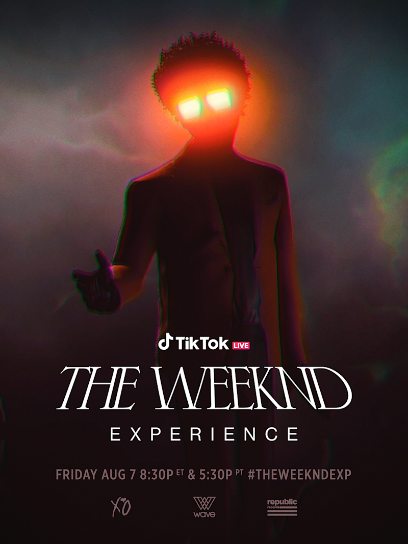 the weeknd experience tiktok.pn posterg