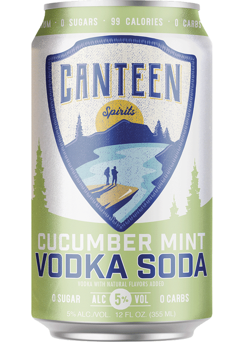 """<p><strong>Canteen</strong></p><p>totalwine.com</p><p><strong>$18.99</strong></p><p><a href=""""https://go.redirectingat.com?id=74968X1596630&url=https%3A%2F%2Fwww.totalwine.com%2Fspirits%2Fready-to-drink%2Fvodka-cocktails%2Fvodka-soda-seltzer%2Fcanteen-cucumber-mint-vodka-soda%2Fp%2F227457355&sref=https%3A%2F%2Fwww.townandcountrymag.com%2Fleisure%2Fdrinks%2Fg35992615%2Fbest-canned-cocktails%2F"""" rel=""""nofollow noopener"""" target=""""_blank"""" data-ylk=""""slk:Shop Now"""" class=""""link rapid-noclick-resp"""">Shop Now</a></p><p>Like spa water, but boozy. Canteen focuses on highly-drinkable, subtly flavored, canned vodka sodas without the added sugar that makes some <a href=""""https://www.townandcountrymag.com/leisure/drinks/g9978018/hard-seltzers/"""" rel=""""nofollow noopener"""" target=""""_blank"""" data-ylk=""""slk:hard seltzers"""" class=""""link rapid-noclick-resp"""">hard seltzers </a>overly sweet. </p>"""