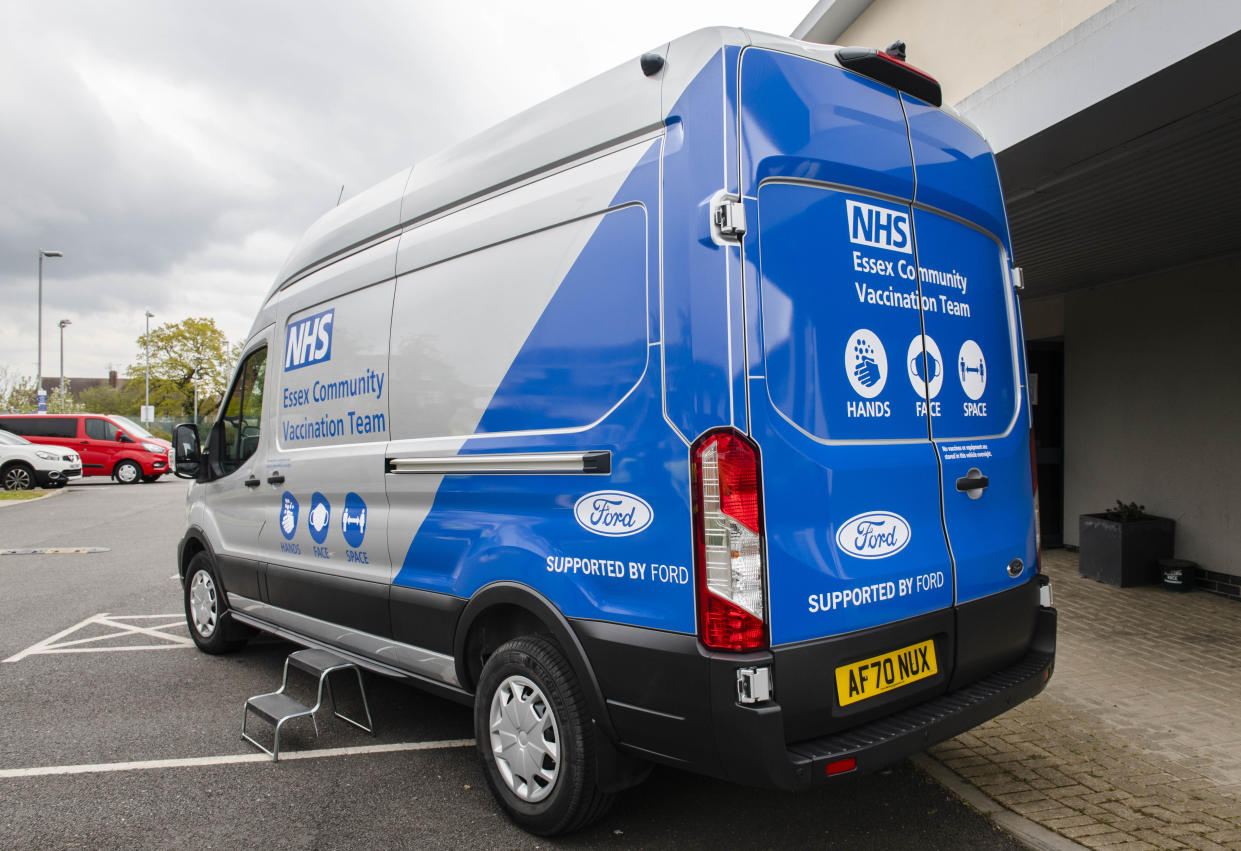 Ford vaccination Transit