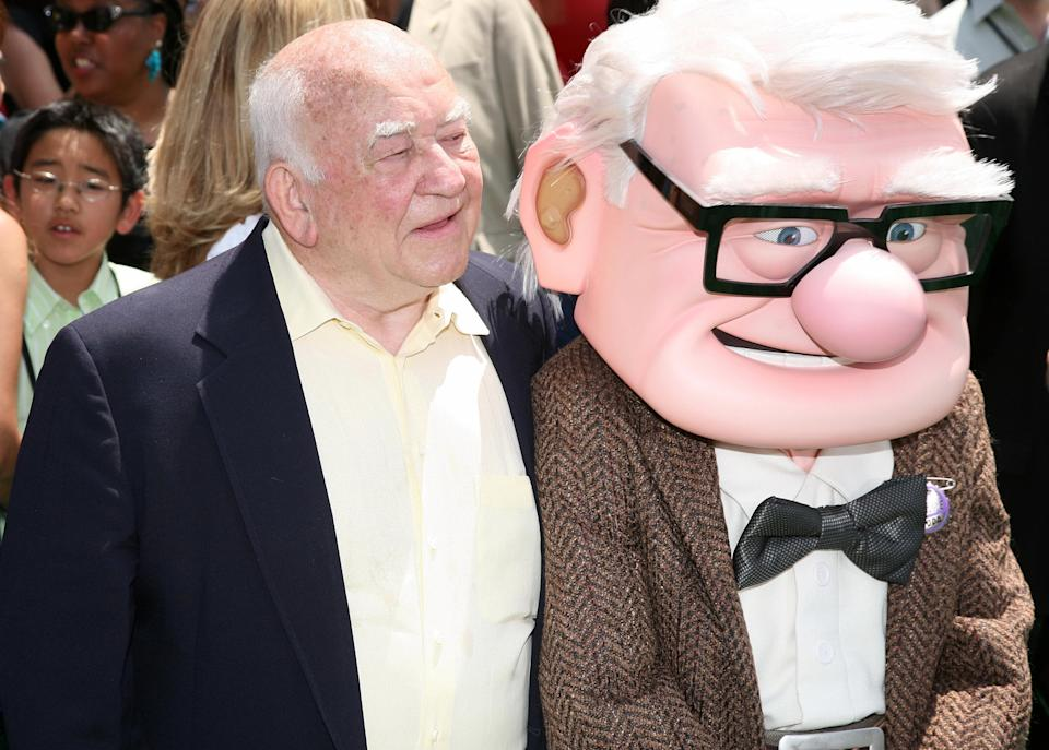 Asner at the premiere of Disney Pixar's Up in 2009. (Photo: AFP PHOTO/VALERIE MACON/Getty)
