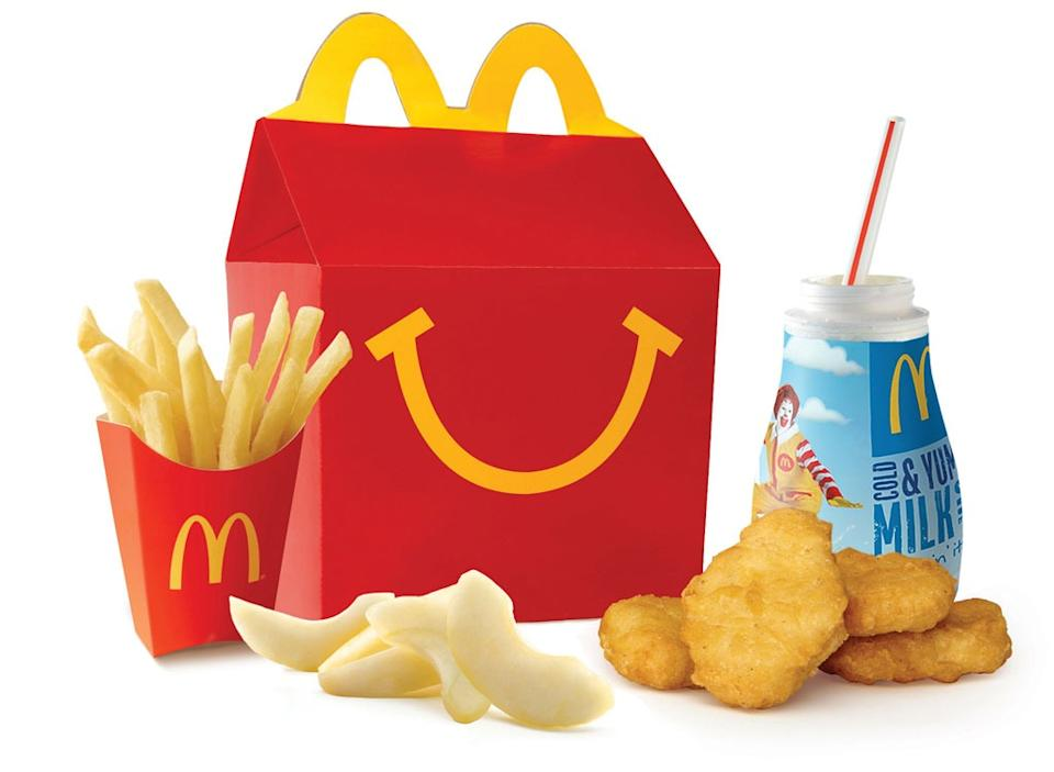 Things You Didnt Know McDonalds happy meal lose weight