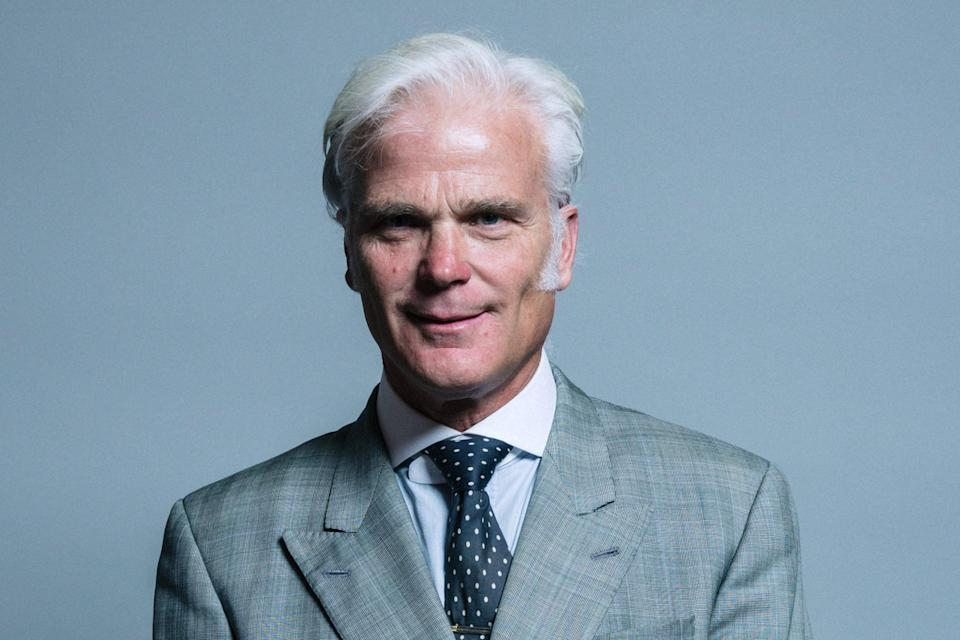 Tory MP Desmond Swayne reportedly told anti-vaccine campaigners to fight on (UK Parliament )