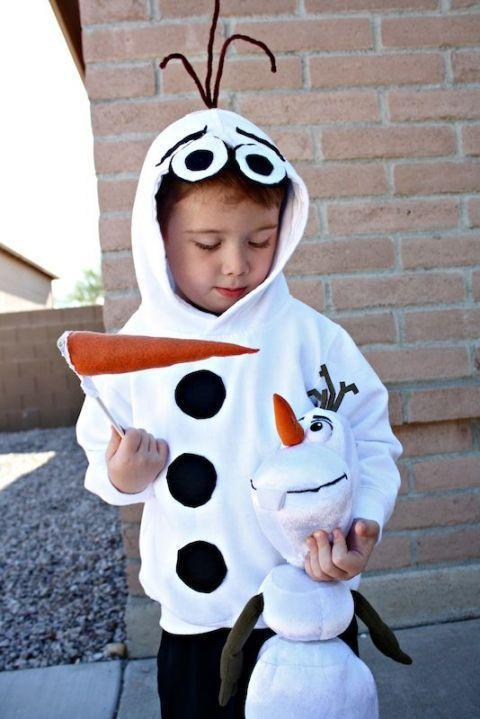 """<p>Do you want to build a snowman (costume)?</p><p><strong>Get the tutorial at <a href=""""http://desertchica.com/olaf-costume/"""" rel=""""nofollow noopener"""" target=""""_blank"""" data-ylk=""""slk:Desert Chica"""" class=""""link rapid-noclick-resp"""">Desert Chica</a>.<br></strong></p><p><strong><a class=""""link rapid-noclick-resp"""" href=""""https://www.amazon.com/Hanes-COMFORTBLEND-EcoSmart-Fleece-Pullover/dp/B003IX72G6/?tag=syn-yahoo-20&ascsubtag=%5Bartid%7C10050.g.4975%5Bsrc%7Cyahoo-us"""" rel=""""nofollow noopener"""" target=""""_blank"""" data-ylk=""""slk:SHOP WHITE SWEATSHIRT"""">SHOP WHITE SWEATSHIRT</a></strong></p>"""