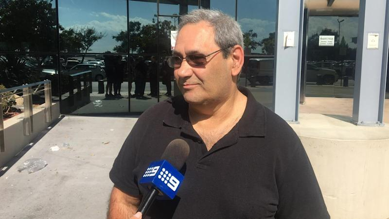 George Mavridis's son was left with brain injuries after a hit-and-run on the Gold Coast in 2016.