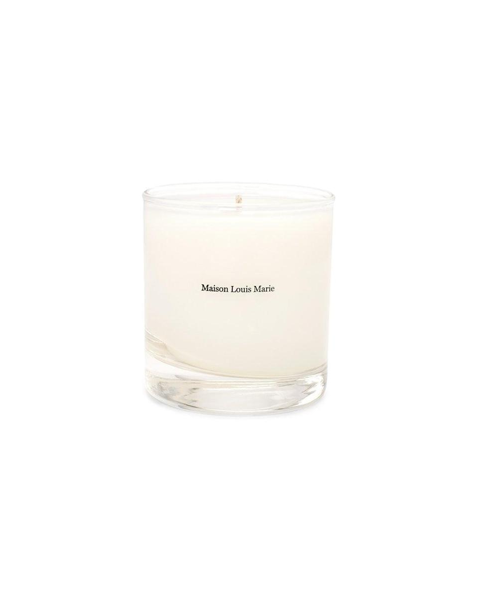 <p>For me, lighting a candle means I'm home for a while. It's kind of my switch into relaxation mode, so I'll be stocking up on this delightful <span>Maison Louis Marie Candle No.4 Bois De Balincourt</span> ($34).</p>