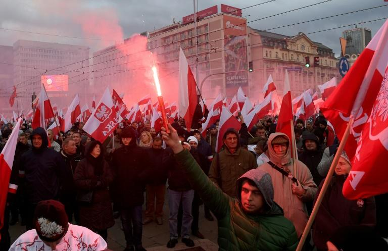 The 2017 edition of the independence day march in Warsaw drew global outrage